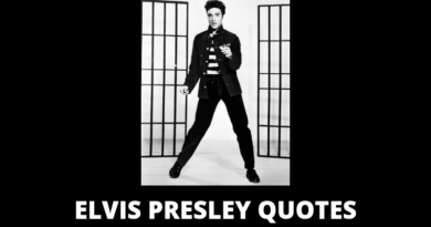 Elvis Presley quotes featured