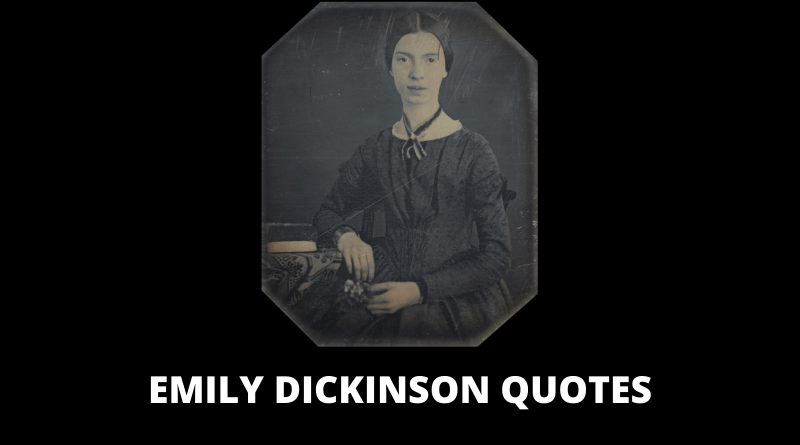 Emily Dickinson Quotes featured