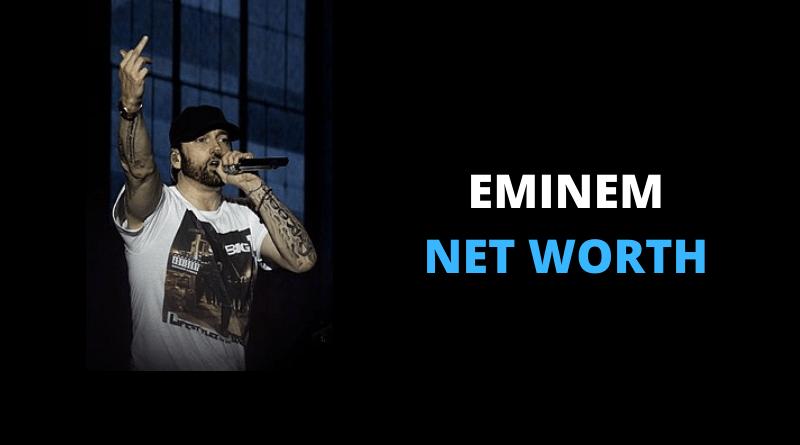 Eminem Net Worth featured