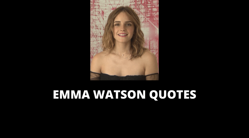 Emma Watson Quotes featured