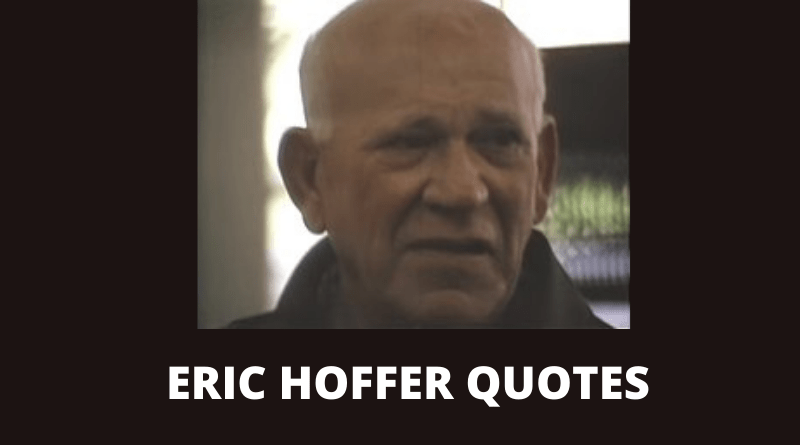Eric Hoffer quotes featured
