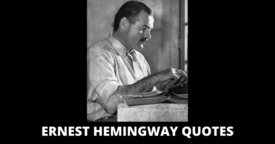 Ernest Hemingway Quotes featured