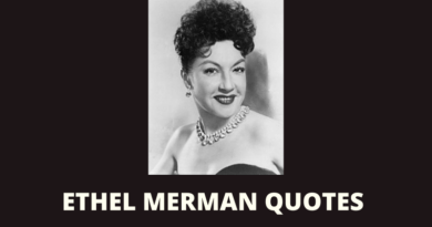 Ethel Merman quotes featured