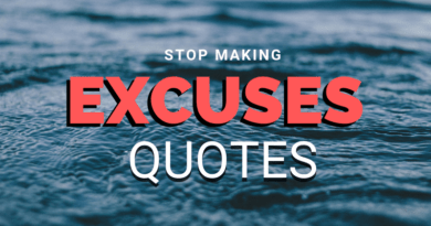 Excuses Quotes featured