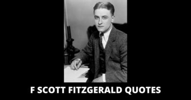 F Scott Fitzgerald Quotes featured