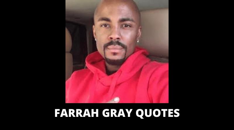 Farrah Gray Quotes feature