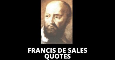 Saint Francis de Sales quotes featured