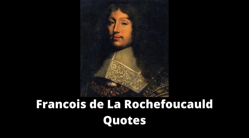 Francois de La Rochefoucauld Quotes featured