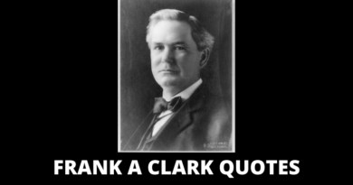 Frank A Clark Quotes featured
