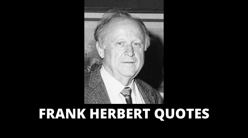 Frank Herbert quotes featured
