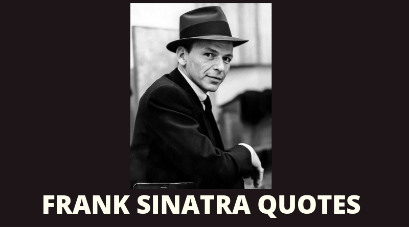 Frank Sinatra quotes featured