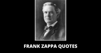 Frank Zappa Quotes featured