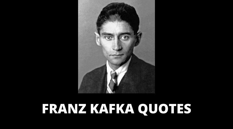 Franz Kafka Quotes featured