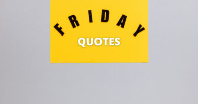 Friday quotes Featured