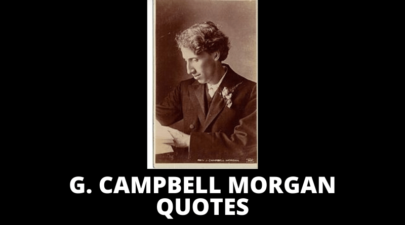 G Campbell Morgan quotes featured