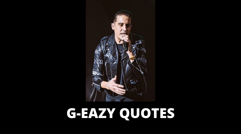 G-Eazy quotes featured