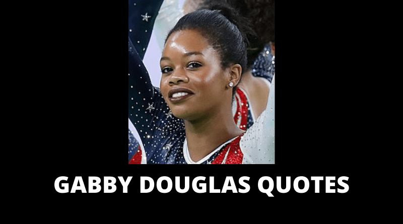 Gabby Douglas quotes featured