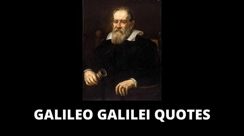 Galileo Galilei quotes featured