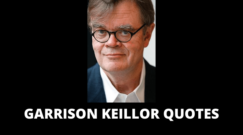 Garrison Keillor quotes featured