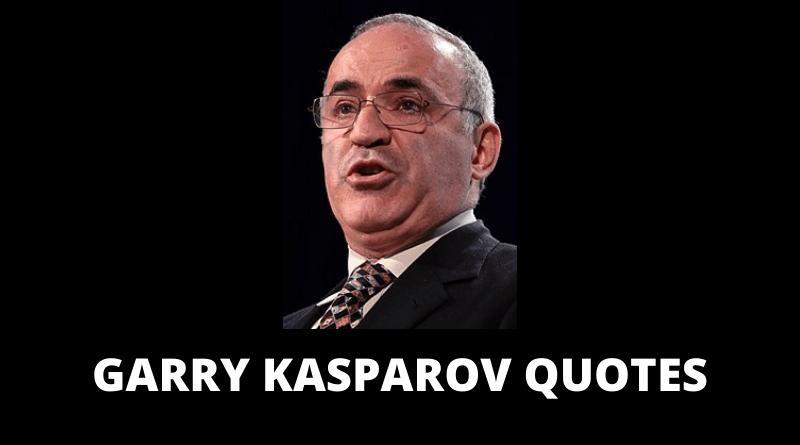 Garry Kasparov Quotes featured