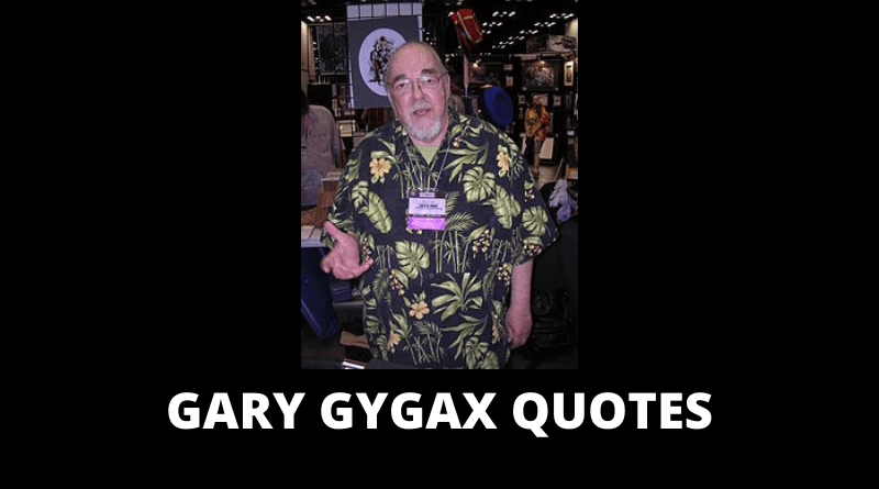 Gary Gygax quotes featured