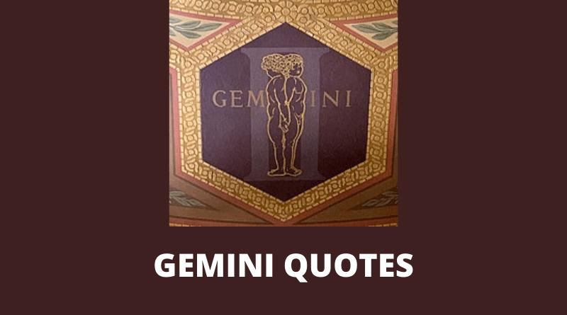 Gemini Quotes Featured