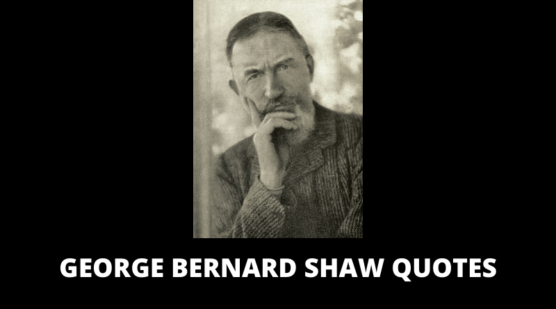 George Bernard Shaw Quotes feature
