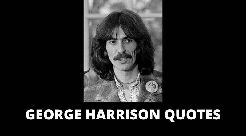 George Harrison quotes featured
