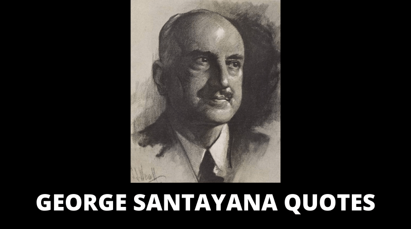George Santayana quotes featured