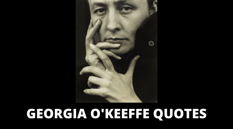 Georgia OKeeffe Quotes featured