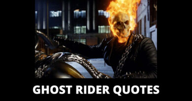 Ghost Rider Quotes featured