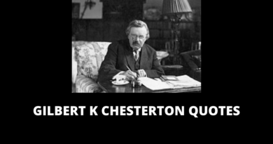 Gilbert K Chesterton Quotes featured