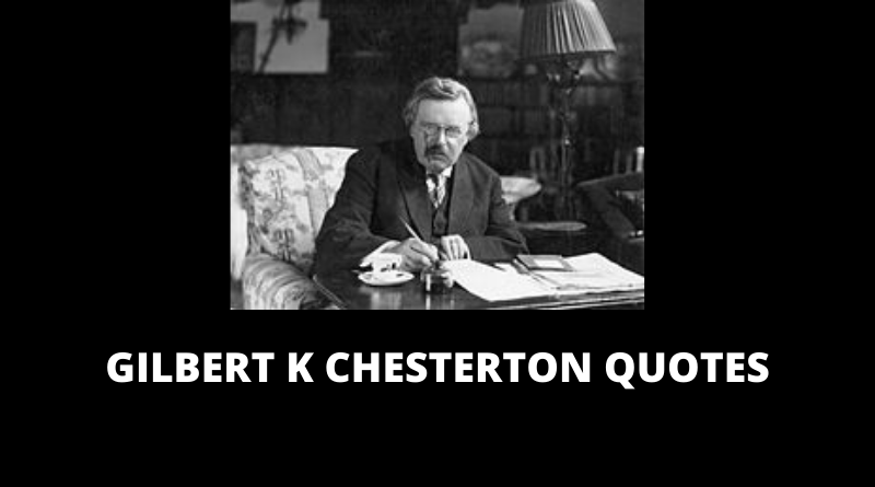 GK Chesterton Quotes Featured