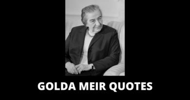 Golda Meir Quotes featured