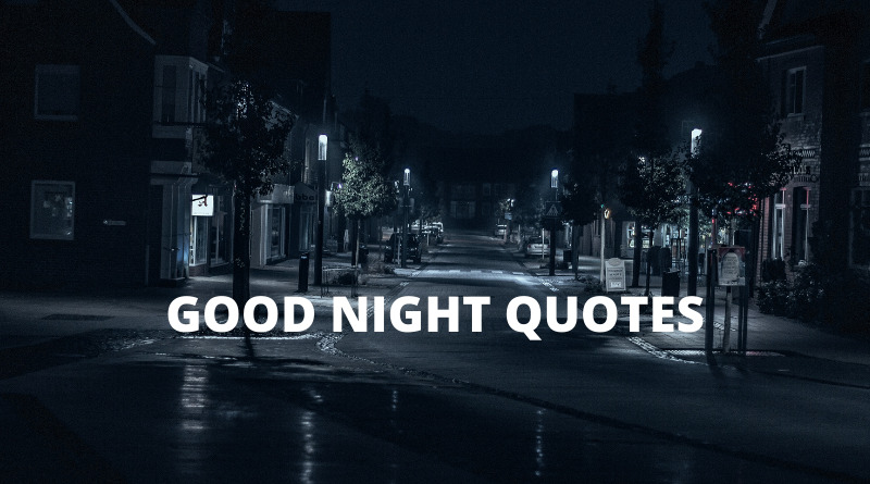 Good Night Quotes Featured
