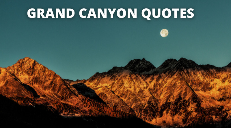 Grand Canyon Quotes Featured