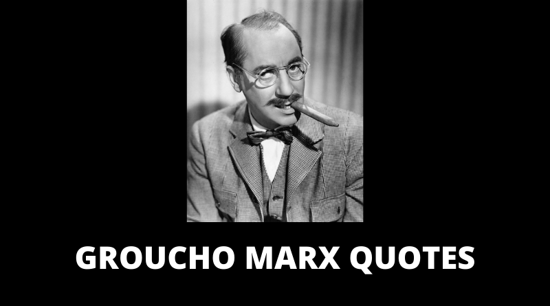 Groucho Marx Quotes featured