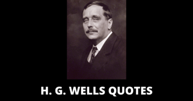 H G Wells Quotes featured