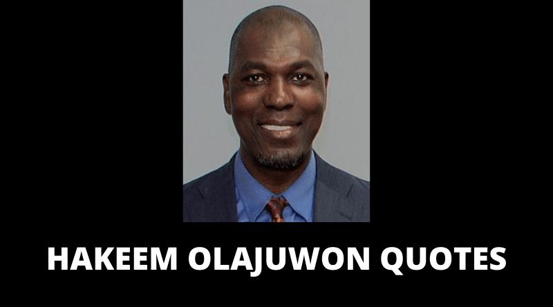 Hakeem Olajuwon quotes featured