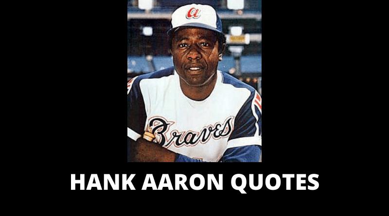 Hank Aaron quotes featured