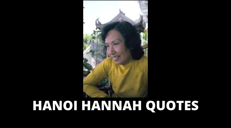 Hanoi Hannah quotes featured