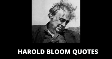 Harold Bloom quotes featured