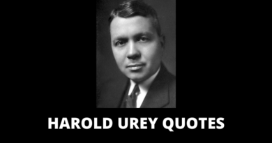 Harold Urey Quotes featured