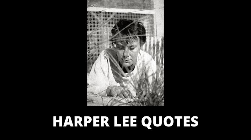Harper Lee quotes featured