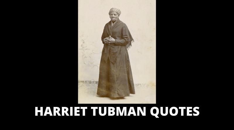 Motivational Harriet Tubman Quotes