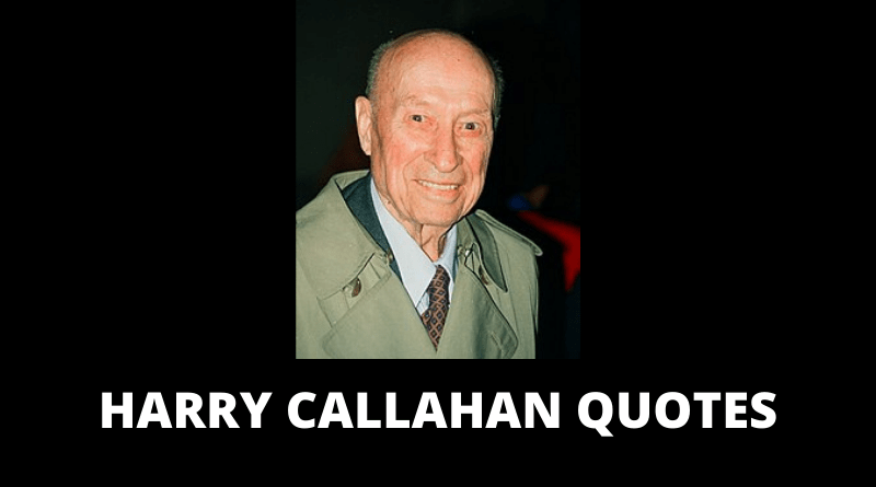 Harry Callahan Quotes featured