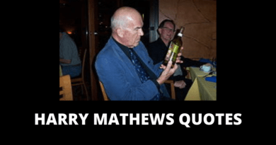Harry Mathews quotes featured