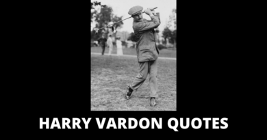 Harry Vardon Quotes featured