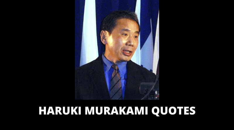 Haruki Murakami Quotes featured