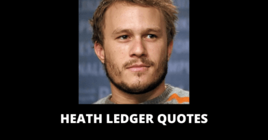 Heath Ledger Quotes featured